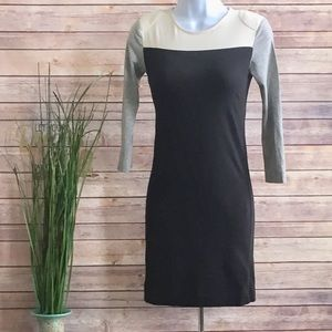 French Connection Color Block Dress